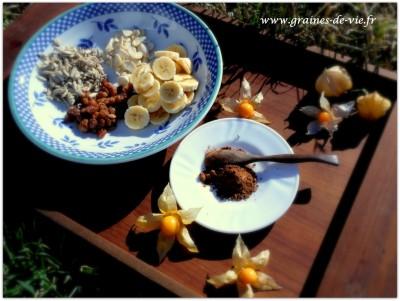 Pudding à la caroube