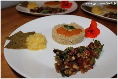 Repas indien de bienvenue