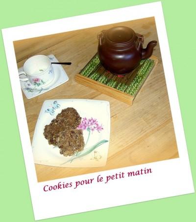 Cookies pour le petit matin