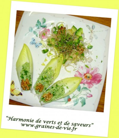 Harmonie de verts et de saveurs