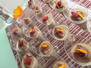 Crème dessert Prélude vanillé, mini coupelles pour la chorale